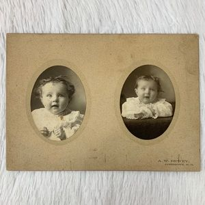 Other - Antique Victorian/Edwardian Cute Baby Photograph